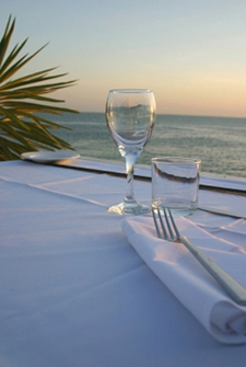 Dinner on the beach with private chef from The Lighthouse Bistro, Kilauea Kauai