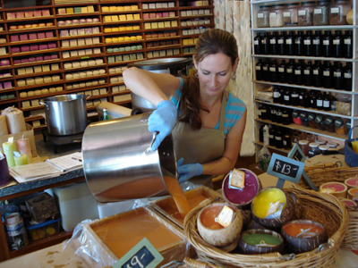 Making Soap at Island Soap