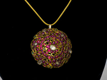 Lotus Gallery's Ruby Pendant