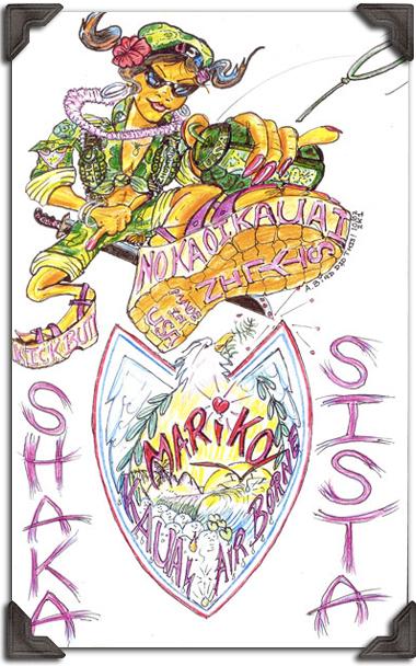 illustration of SHAKA SISTA