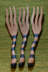 JONATHAN'S WILD CHERRY SPOONS spaghetti forks