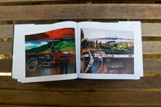 """Spread from the book entitled """"Migration"""""""