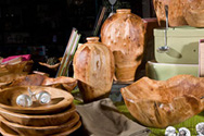 Rootworks bowls on display at Kong Lung Trading