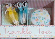 Twinkle Toes cupcake cases