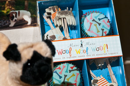 Woof Woof cupcake cases by Meri Meri