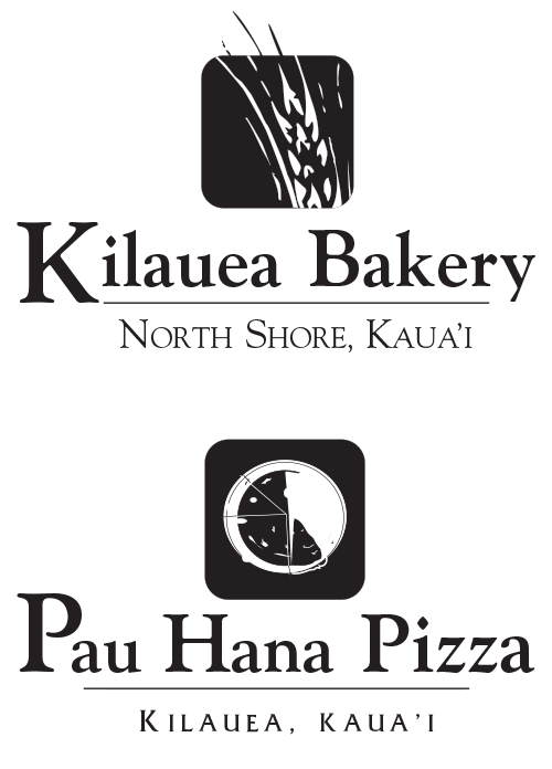 Logo for The Bakery In Kilauea and Pizza In Kauai