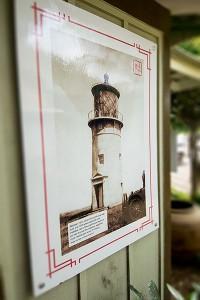 Kilauea Kauai History, outdoor exhibit