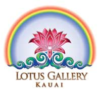 Rainbow Logo For Lotus Gallery