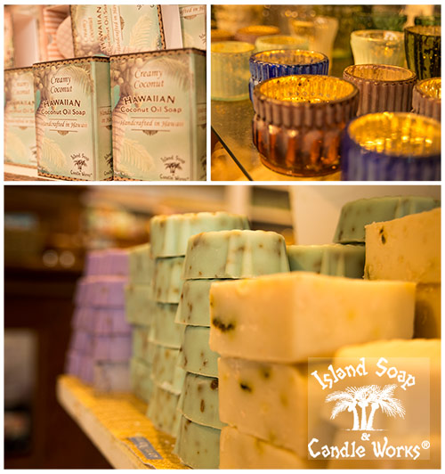 Some fun products from Island Soap and Candleworks