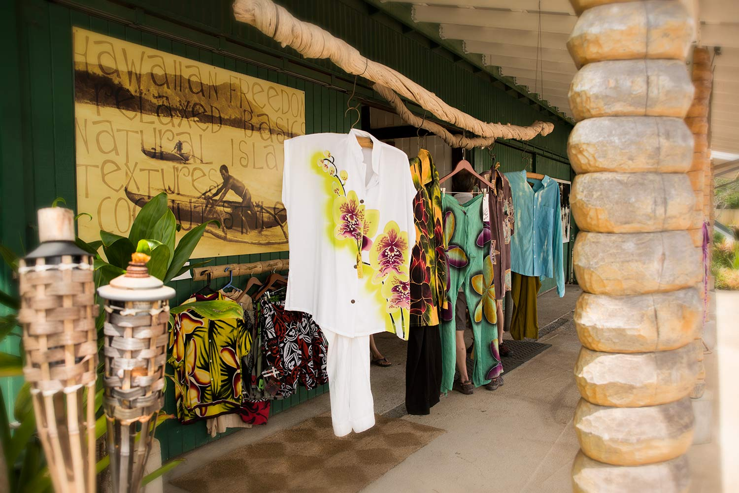 Picture of the entrance to Coconut Style at Kong Lung Center