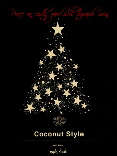 Holiday Greetings from Coconut Style