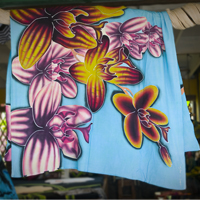 Another beautiful sarong hand painted