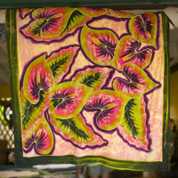 Custom Sarong from coconut style