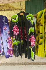 black Coconut Style's rayon batik kimonos