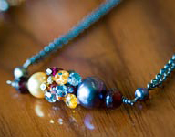 A beautiful necklace by Dana Caruso
