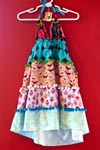 Super cute children's halter dress by Kauai designer Pint Size.