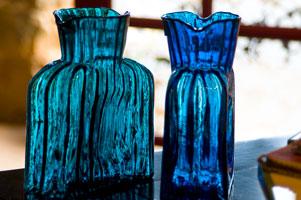 Blenko Glass Watercraft water pitchers