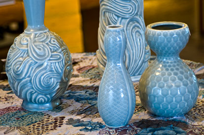KleinReid vases from the Aubrey Collection