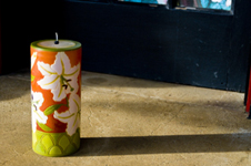 A lovely Moon Alley Candle