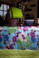 A beautiful French Linen table cloth by Nydel