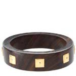 Wood and gold ring by the Branch