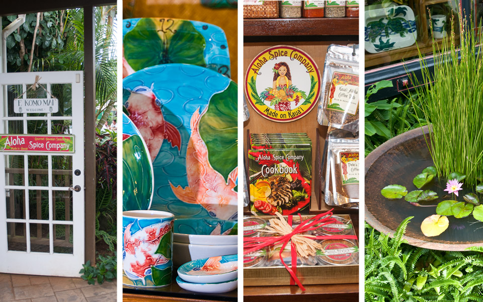 Products found at Banana Patch Gallery on the North Shore of Kauai